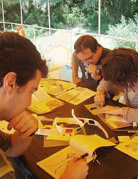 International Artists Join Together to Prepare Educational Programs for UNESCO Youth Academy in Romania